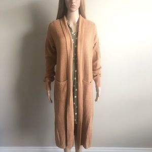 Honey Punch Duster Cardigan M NWT